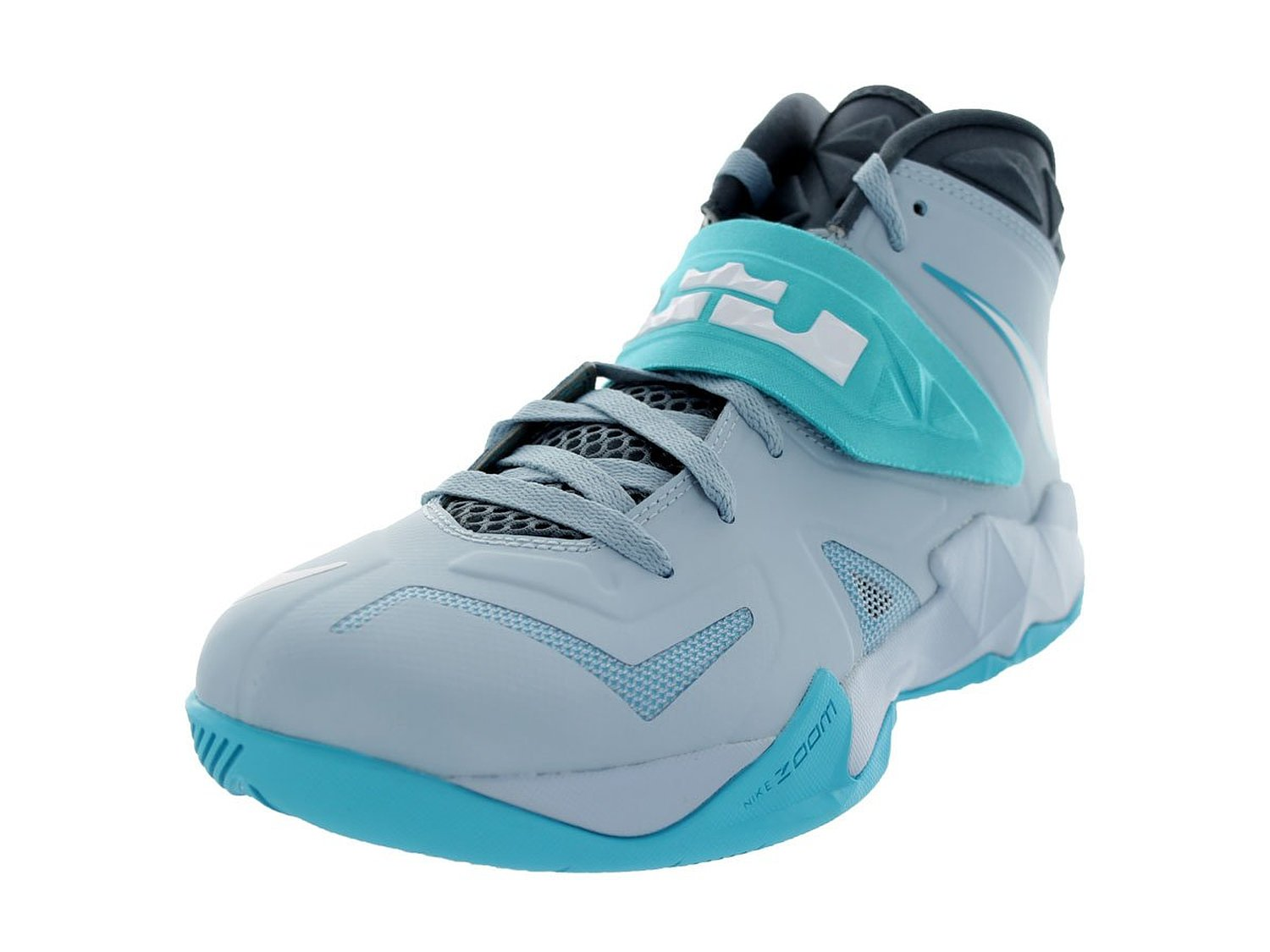 quality design f27d2 7af86 Nike Mens Zoom Soldier VII Basketball Shoes Lite Armory Blue/White/Gamma  Blue 599264-402 Size 10