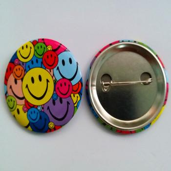 Promotion Company Logo Pin Handbags Metal Button Badges With Safty Pin -  Buy Company Logo Pin Button Badges,Handbags Metal Logo Badge,Metal Button