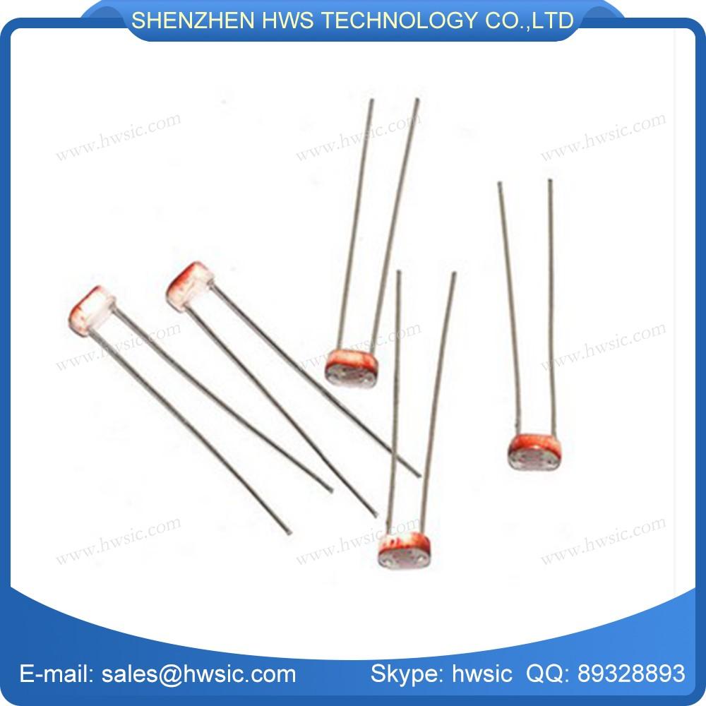 Mj5528 5mm Photoresistor Sensor Ldr Cds Light Dependent Circuit With Resistor