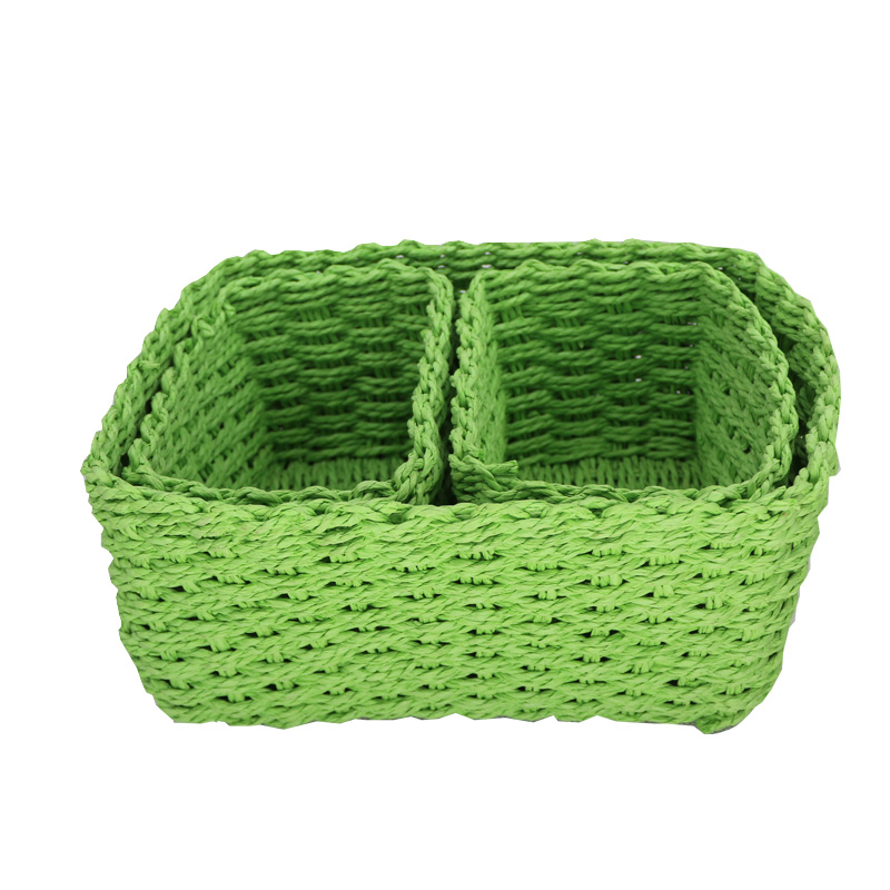Useful pure hand woven packing small paper basket