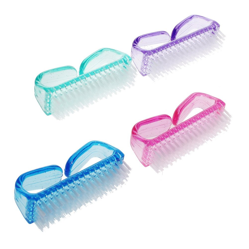4pcs Nail Brushes For Cleaning Yslf Acrylic Brush Hand Scrubbing