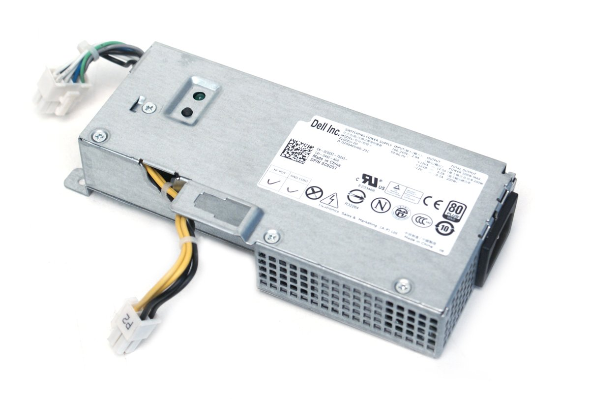 Buy Genuine Dell 200w C0g5t 1vcy4 Power Supply Unit Psu For At Form Factor Optiplex 780 790