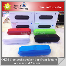 Factory 1200mAh S812 Wireless Bluetooth Speaker With TF card USB port and FM