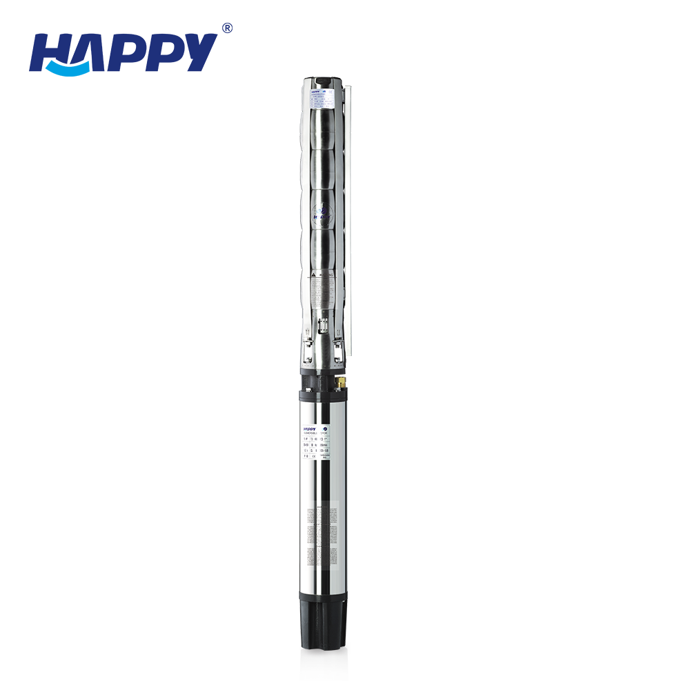 China 6 inch deep well water 7.5 hp 15hp 25hp submersible pump