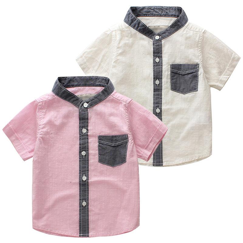 381b9b238b4 Get Quotations · Free shipping 2015 Summer New Boy Shirts Cotton and linen  shirt Summer Boy Shirts For Kids