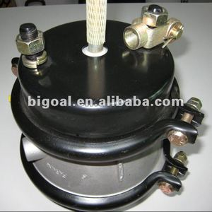 Air chamber brake disc for trucks and trailers