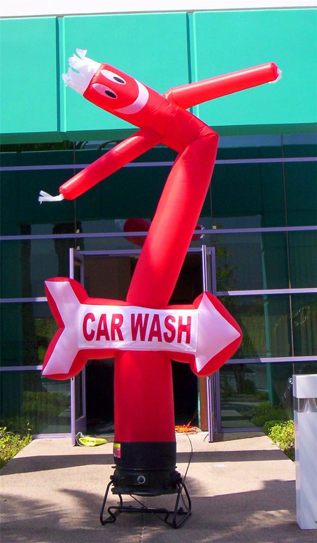 Hand Car Wash Mascot