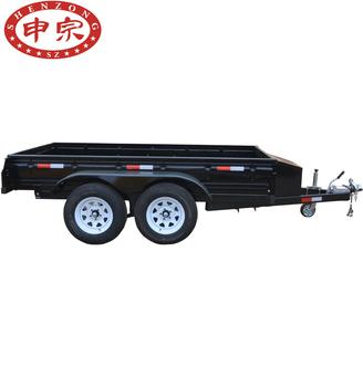 small trailer chassis mini car trailer use box trailer buy car