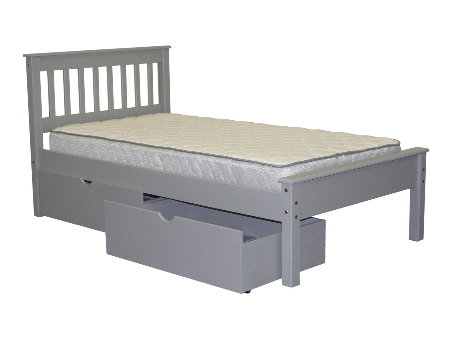 the with underneath bed home beds depot drawers twin storage wood prepac white monterey p wbt headboards kids