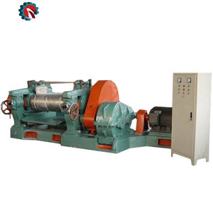 High quality and durable rubber mill rubber rolling mill fine line for tire recycling plant