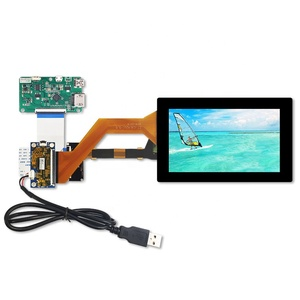 50 pins MIPI FPC Connector for 3D Printer 5.5 inch 1440x2560 IPS 2K lcd Display with Touch Panel Available