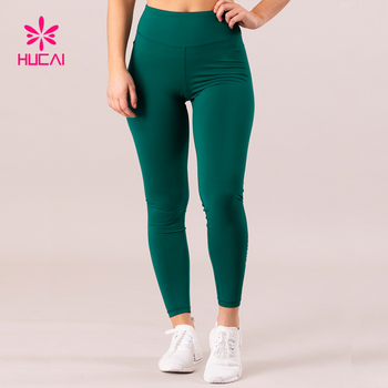 Custom Yoga Pants Leggings Full Length Dry Fit Women Scrunch Tights