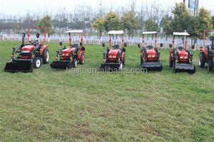 production in china 4 wheel best garden farm tractor for sale Philippines