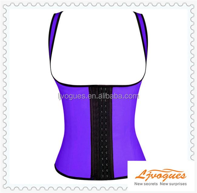 Sexy Latex slimming underbust fat burning waist Cincher corsets Wholesale 17