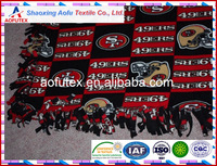NFL SAN FRANCISCO 49ERS Hand-Made Double-Thick Fleece Blanket/Throw-65