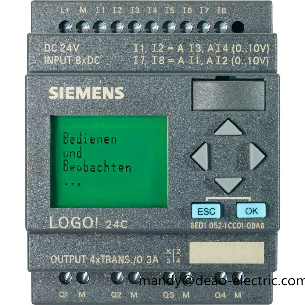 Siemens LOGO BM 12//24rce 6ed1 052-1md00-0ba8,6ed1052-1md00-0ba8