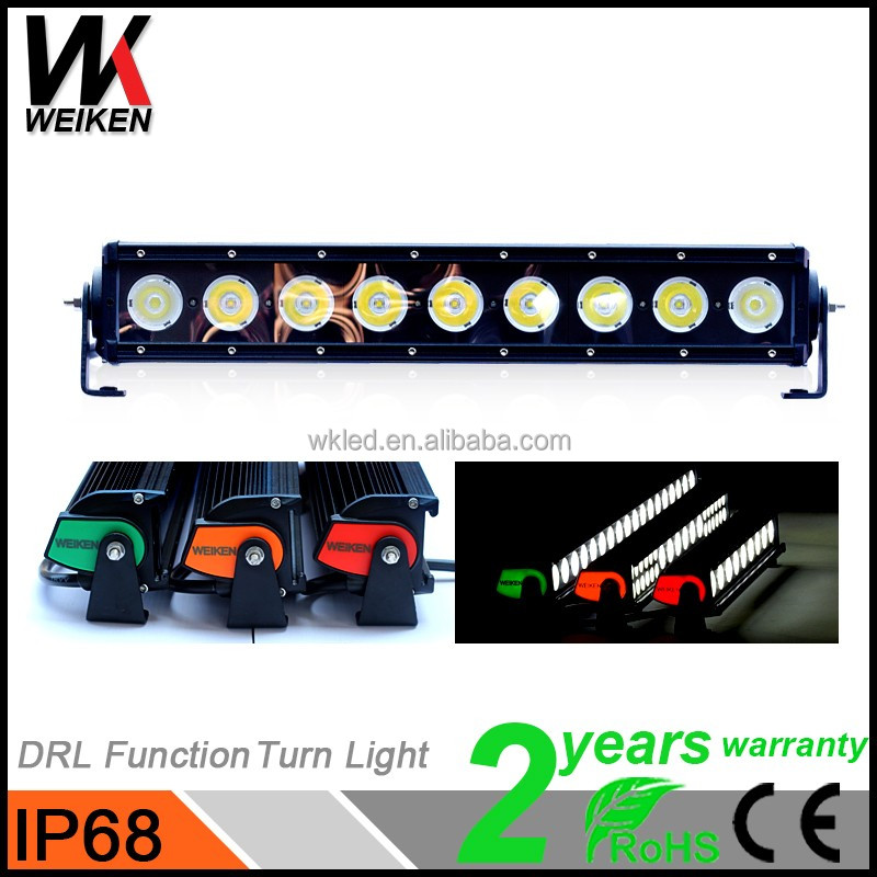 WEIKEN 90W 16inch Offroad 4x4 Waterproof 10W Led Light Bulb Bar Motorcycle Accessories