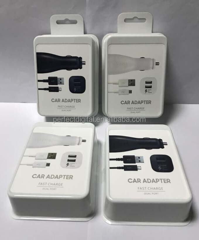 Carga Rápida Adaptable Ep ln920 De Puerto Dual Usb Adaptador De Coche Cargador Para Samsung S7 Note5 Buy Cargador De Coche De Doble Puerto,Adaptador