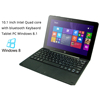 10.1'' Window s 10+ Android 5.1 dual operating system tablet pc with keyboard