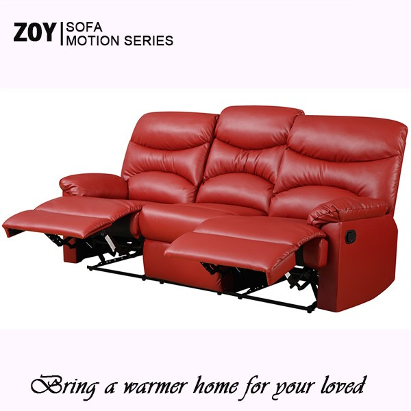 New Design Living Room Leather Motion Sofa Set 6 Seaters ZOY -R9149A