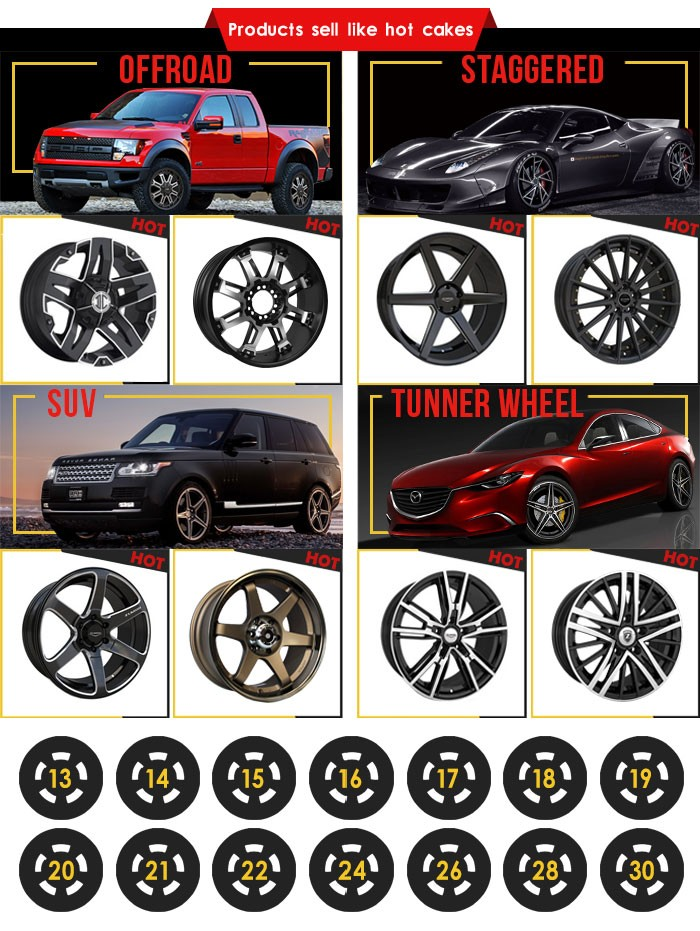 Zumbo-a0061 Aluminum Alloy Wheel For Cars Rim List Alloy Wheels ...