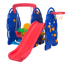 Various Multifunction Plastic Kids Slide Swing