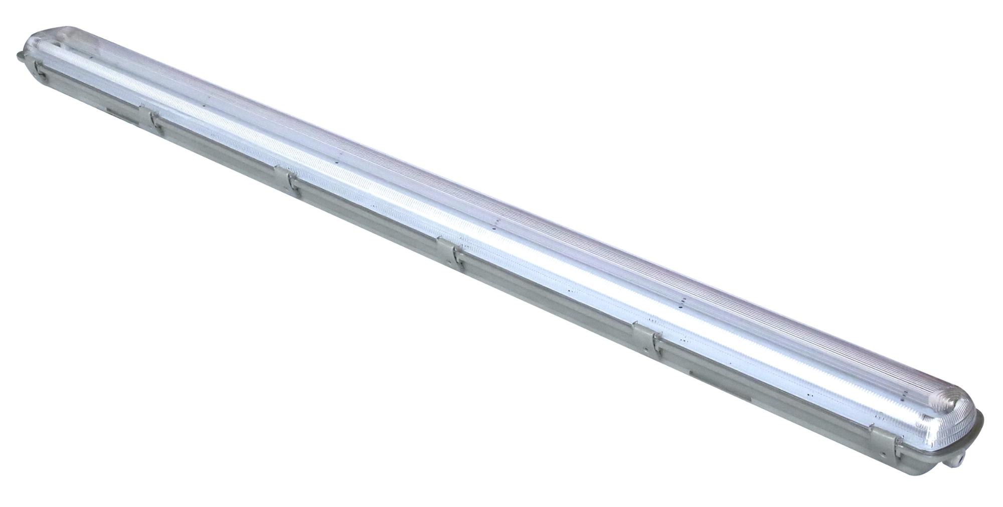 IP65 waterproof light cover for T5 fluorescent tube 2*49w