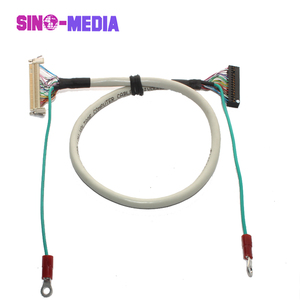 ribbon interface lvds ethernet lcd video cable for lcd cable