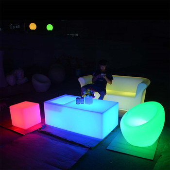 light up furniture rotational molding outdoor patio led furniture set sectional sofas chair table with lighting