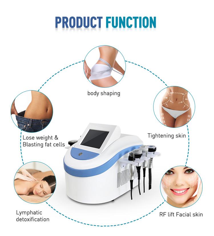 Trend 2019 rf cavitation slimming machine rf slimming machine vacuum cavitation