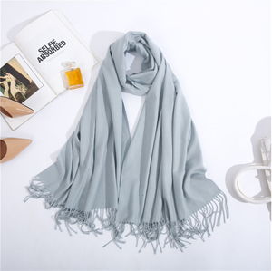 Wholesale Cashmere Winter Warm Scarf Pashmina Shawl Wrap for Women Long Large Soft Scarves
