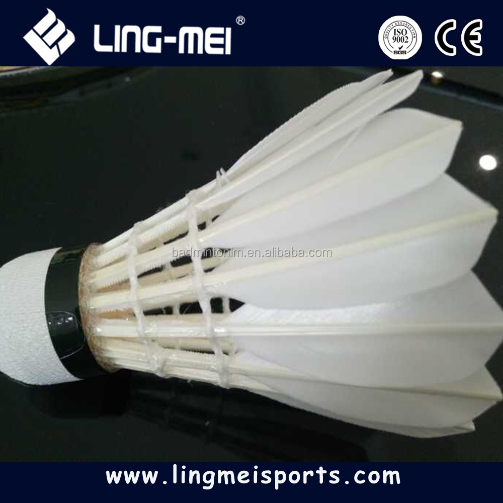 brand badminton shuttlecock for oem with high quality and favorable price