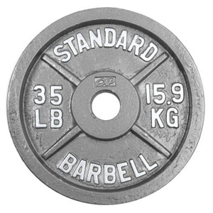 Gym equipment commercial cast iron weight plate