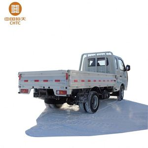 6 wheel logistics transport electric burden carrier cargo truck with chassis and frame