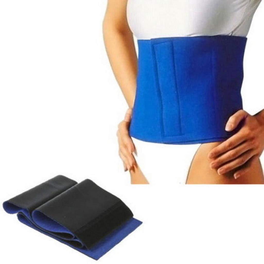 0518b890624ca Get Quotations · Potato001 Waist Trimmer Exercise Wrap Slimming Belt Burn  Fat Weight Loss Body Shaper