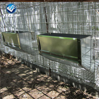 Good quality 12 door rabbit breeding cages / 3 tiers rabbit cages (Factory)
