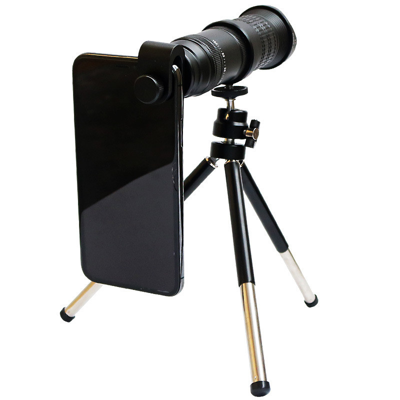 With tripod remote control Mobile Phone Lenses 18X - 30X Telephoto Monocular Zoom Camera Lens for iPhone X for Samsung s10