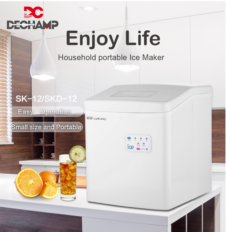 Portable Ice Maker With Water Dispenser With ETL Certificate
