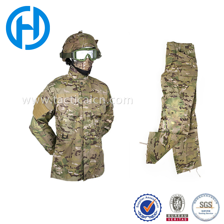 Factory Direct High Quality Wholesale digital camouflage military uniform