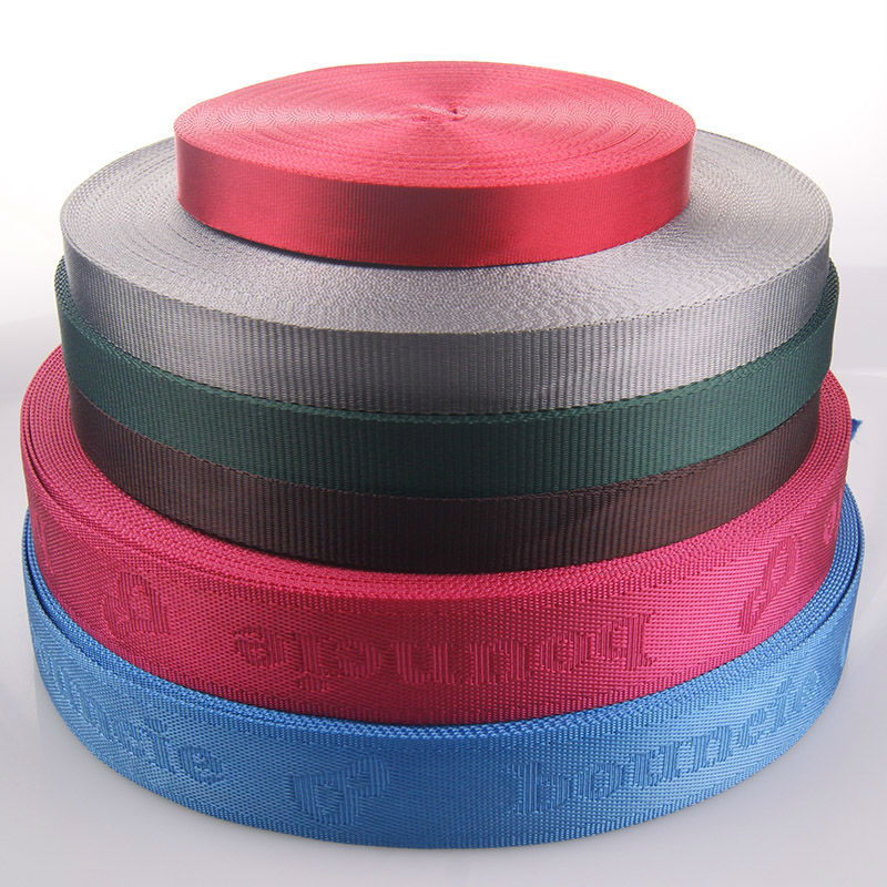 Custom colors nylon backpack straps for wholesale