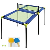 New Product Indoor Outdoor Toys Funny Kids Paddle Game Table Tennis Table For Children