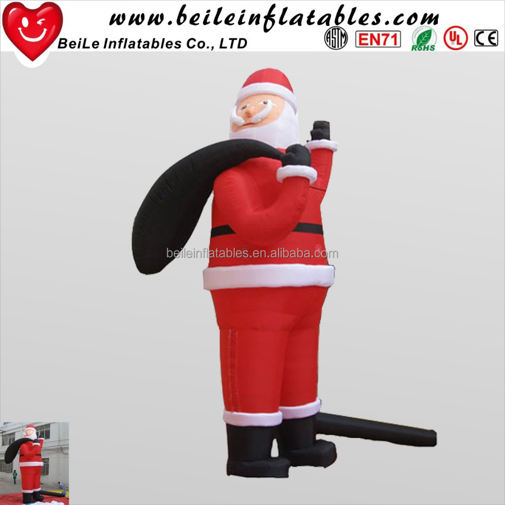 Hot sale giant holiday inflatable christmas santa claus