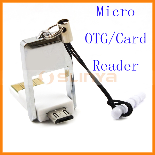 Micro USB OTG Function Multi Function Card Reader For Samsung S7
