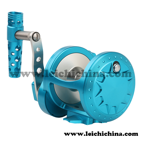 high end aluminum single speed slow jigging reel