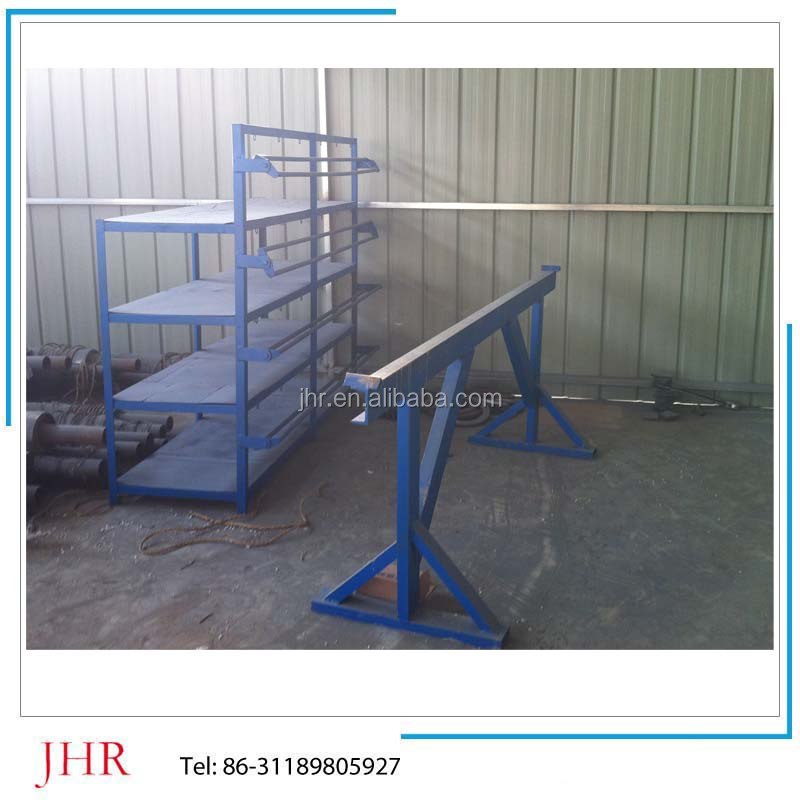 FRP profile pultrusion machine with creel stand
