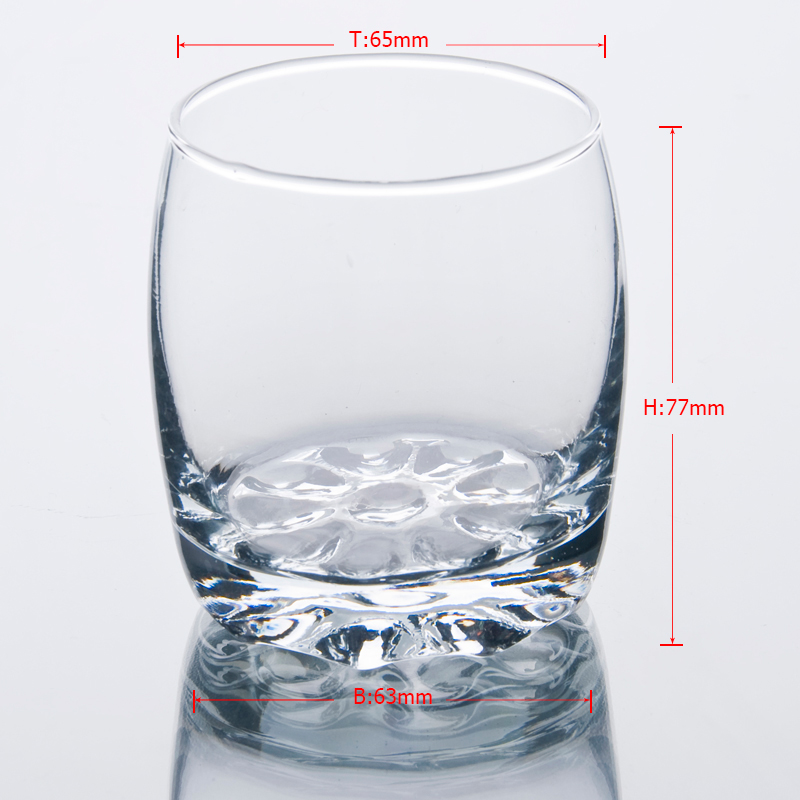 Cocktail glass heavy bottom wholesale