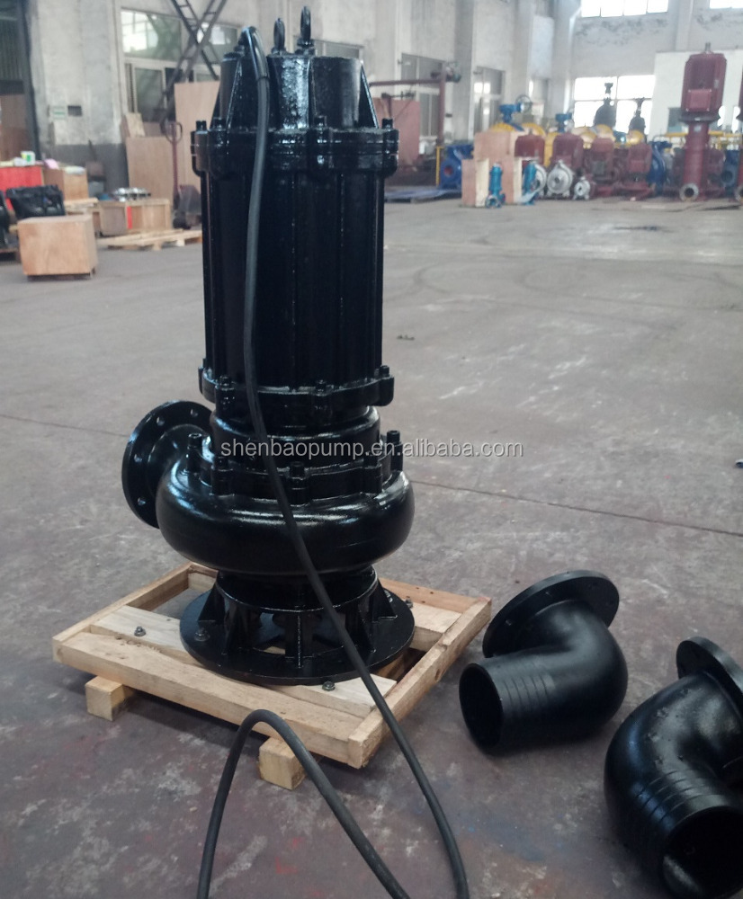 WQ series 5 hp submersible 펌프 3 상 1hp submersible 펌프