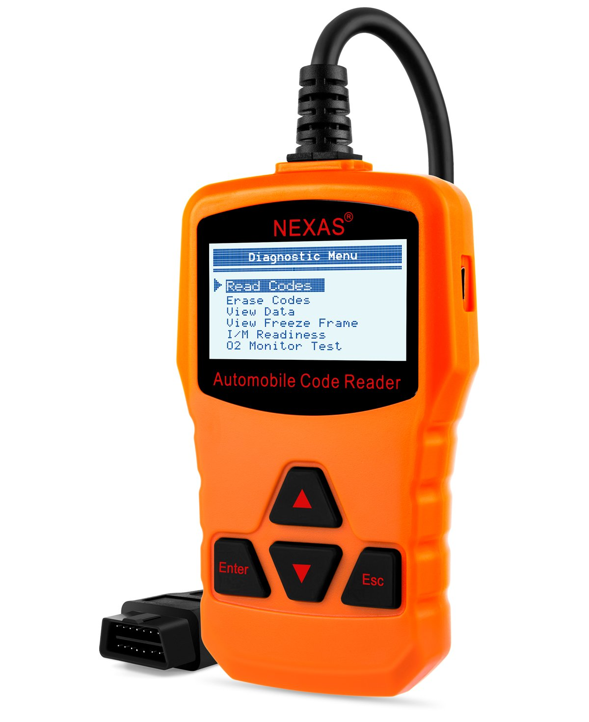 Get Quotations · NEXAS Obd ii Codes Reader Check Engine Light Diagnostic  Tools, NL100 New Generation Obd Universal
