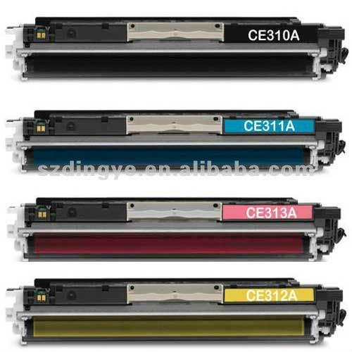 four colors jet toner cartridge for hp CE310A