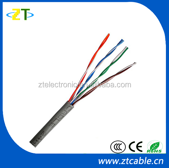 Best Price UTP Cat5e Lan Cable 1000ft/Roll with Bare Copper conductor